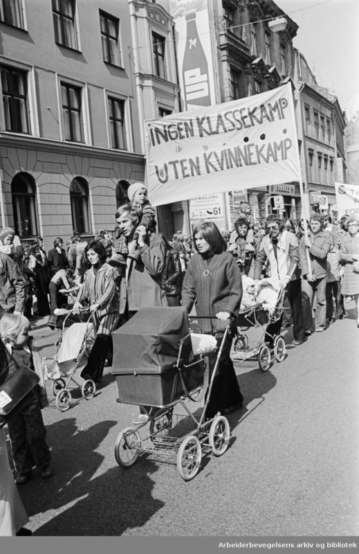 Demonstrasjonstog (Foto/Photo)