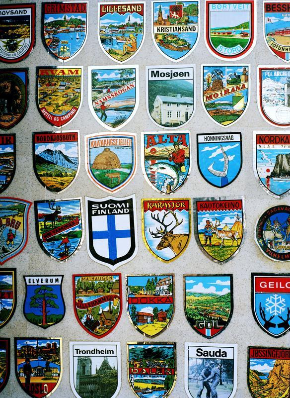 Scandinavian stickers,eljord 2009