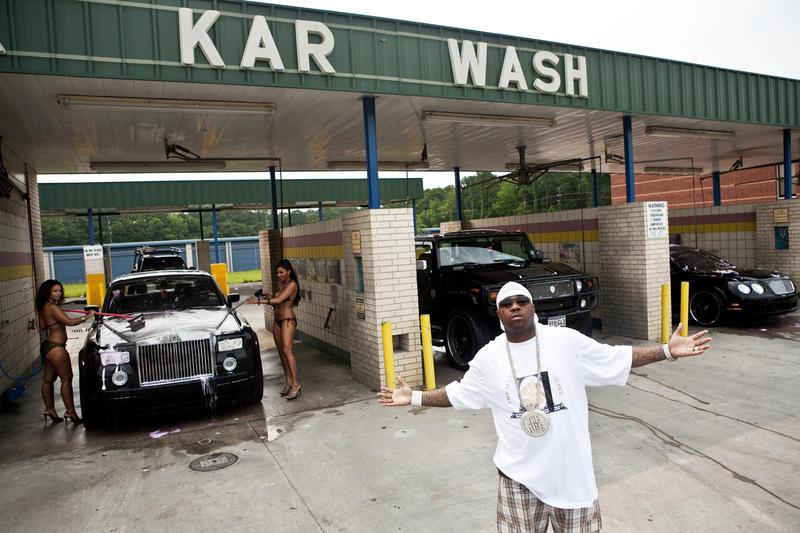 Mike Jones at the Karwash, Houston 2007
