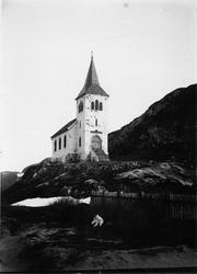 Kong Oscar IIs kapell i Grense Jakobselv.