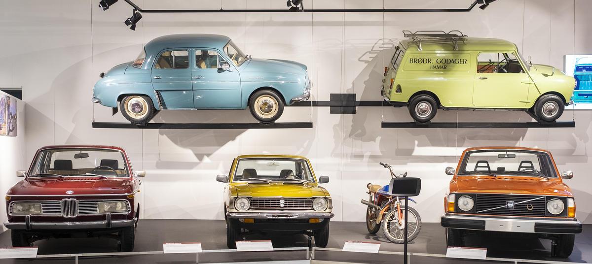 Kjøretøy på Norsk kjøretøyhistorisk museum. Foto: Morten Reiten (Foto/Photo)