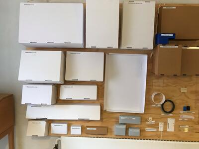 Standardisert pakkeutstyr. Foto/Photo